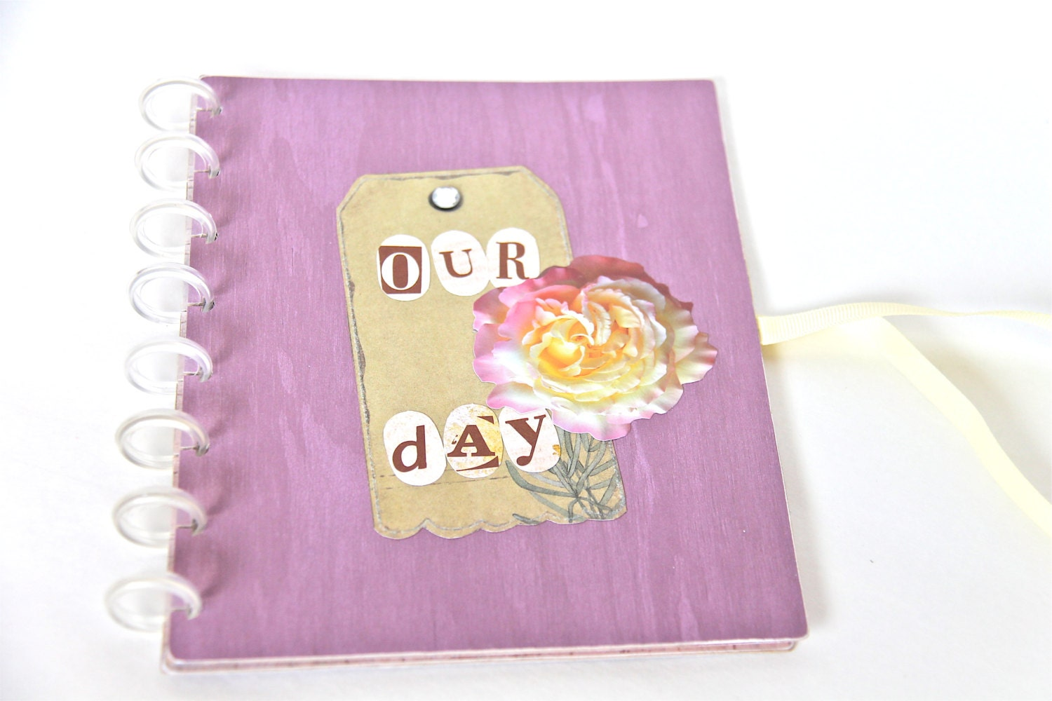 Gifts For Wedding Planners: Engagement Gift Handmade Wedding Planner Book By PaperTraits
