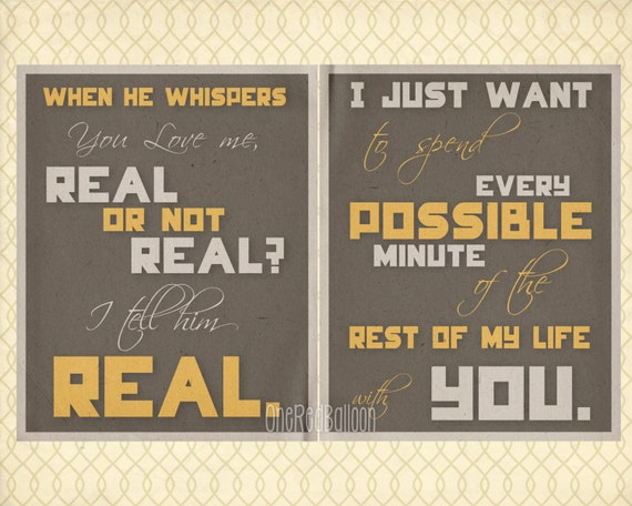 Set of 2 Hunger Games Posters 8 X 10 Real or Not Real Digital Prints Peeta Quotes