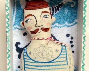 Sailor Boxed Art Doll