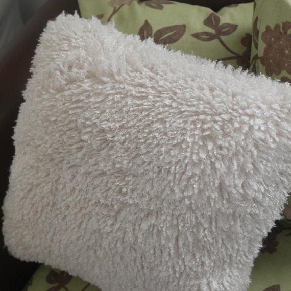 Faux Lambskin pillow 20x20
