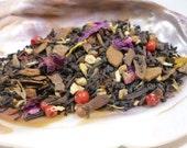 Tea Sample - Winter Court - black loose leaf tea - Rose Chai