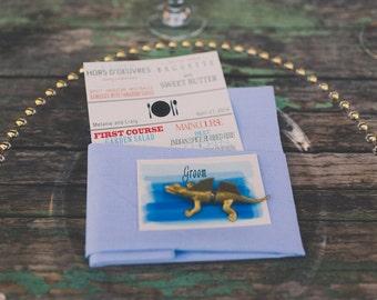 Animal Wedding Favors in Gold - 50 magnets (25 full animals) Desert Wedding
