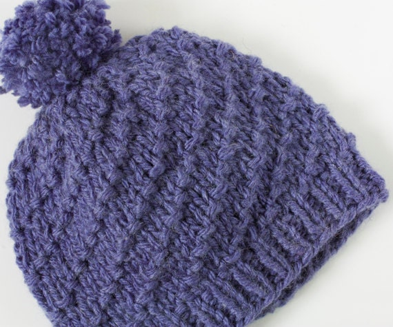 Knitting Pattern For Bobble Hat For Babies : Bobble Hat Knitting Patterns For Precious Babys Little Head