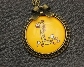 Necklace little girafe kids child
