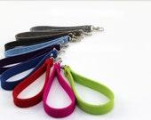 Wristlet Key Chain Wristlet Key Fob Wool Felt Strap Handle