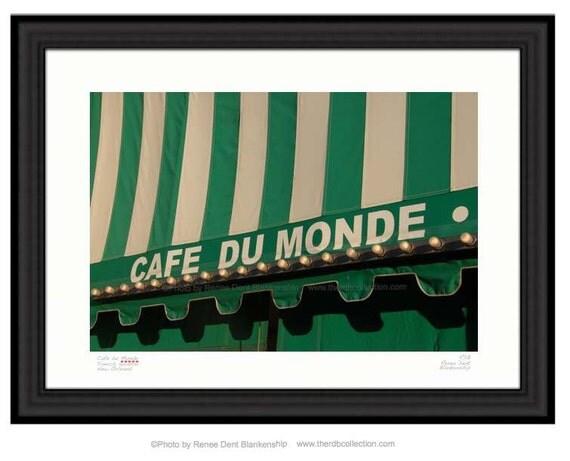 Cafe Du Monde Photo French Quarter Beignet And Cafe Au Lait Kitchen Decor Therdbcollection Renee Dent Blankenship