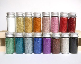 German Glass Glitter - Choice of 2 bottles 1/2 oz each