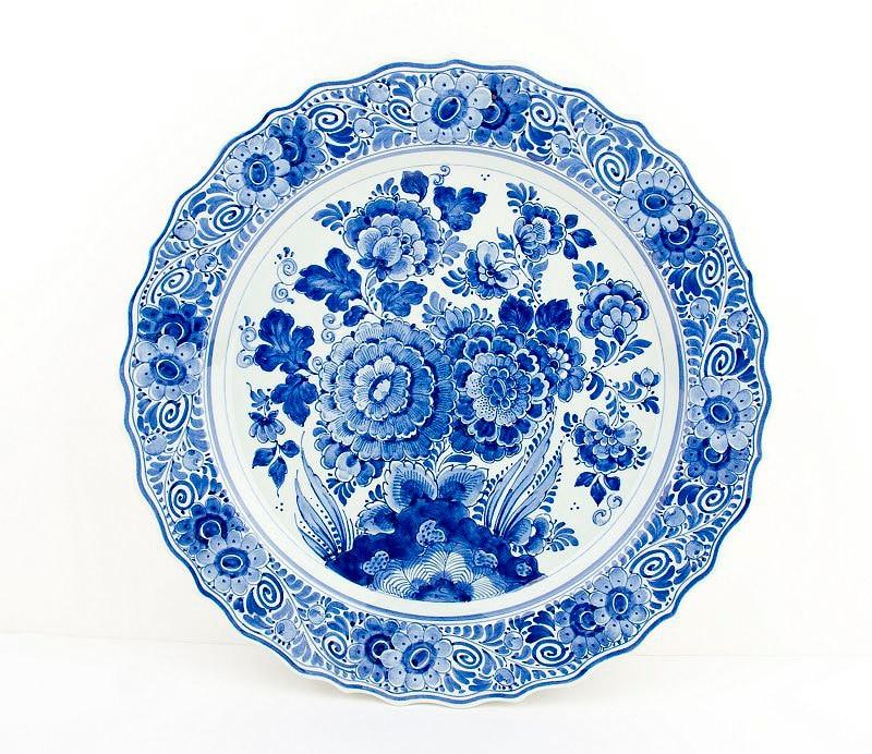 Blue Wall Plates