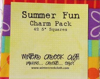 Summer Fun Charm Pack
