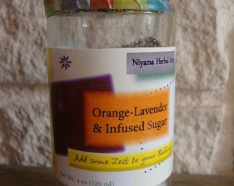 Orange- Lavender Sugar