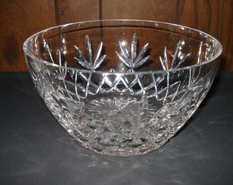 Lenox Charleston Cut Glass Bowl