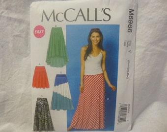 McCall's 6966: Women's Maxi skirt
