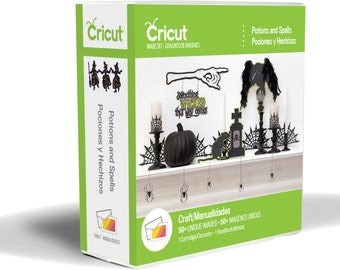 """Cricut Cartridge- ANNa GRiFFiN - """" POTIONS and SPELLS """" - NeW !!  HALLOWeeN 2014 - IT's HeRe !"""