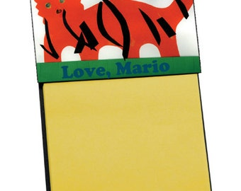 Custom Sticky Note Holder - Made to Order with Your Custom Design (UN5681)