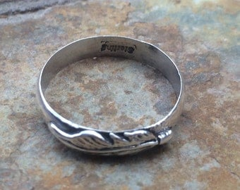 Native American Sterling Silver Band Ring