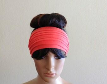 Wide Headband. Wide Head Wrap