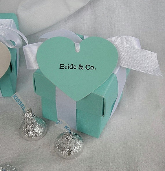 Aqua Wedding Favor Boxes : Turquoise blue favor boxes box teal aqua wedding favors
