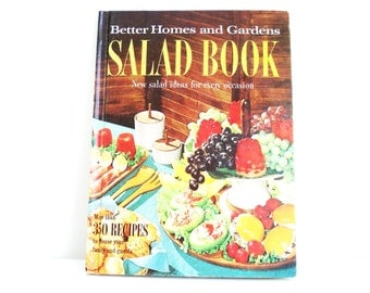 Vintage Better Homes & Gardens Salad Cookbook