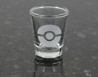 Pokemon Pokeball Shot Glass