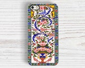 ANCIENT Floral Tiles IPHONE 6 CASE   iPhone 6S case, iPhone 6S Plus case, iPhone 5S case, iPhone 5C cover, iPhone 4S cover, Middle Eastern