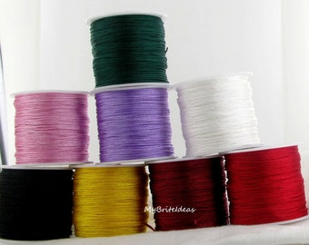 Nylon Chinese Knotting Cord 1mm Jewelry Supplies and Beads and Craft supplies