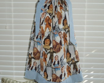 Boutique Pillow Case Dress featuring the original Wizard of Oz Characters :CH061