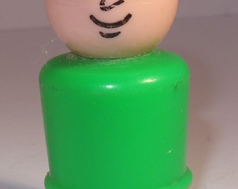 fisher price little people father in green