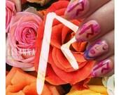 Rihanna nail decals
