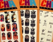 TUPAC SHAKUR California Love 3 pack set Nail Decals