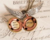 After all this time? - Always - legendary golden snitch necklace - harry potter inspired