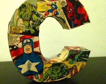 Comic Book Letter