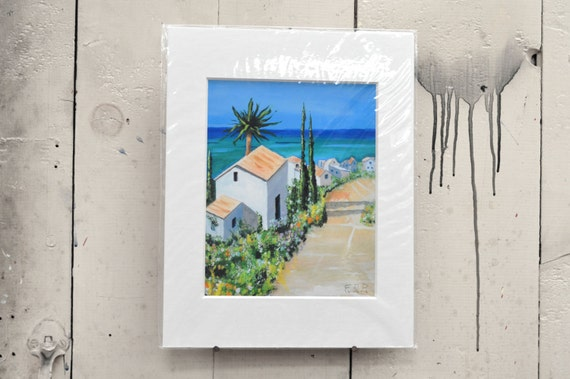Morning in the Caribbean Giclee Print 11x14 100% of the profits go directly to artists with disabilities. Item 216 Frank B.