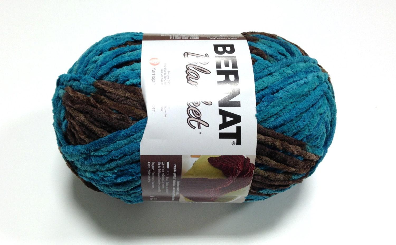 Bernat Big Blanket Yarn Mallard Wood Large By