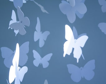 Butterfly Mobile - Paper Mobile for Nursery, Baby or Kids Decor makes a great baby shower gift.