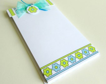 Pattern Stationery Pad Correspondence Note Stationery Notebook Patterned Note Paper Memo Pad Personalize Note Pad Custom Stationery Note Pad