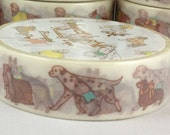 Washi Tape Masking Tape Deco Tape Paper Tape Dog Corgi,Cavalier,Schnauzer,Maltese,Dalmatian,Dachshund, Pug, Labrador Husky, Poodle