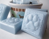 Doggie Soap, Three Paws and Bubbles Soap, Dog Bath, Dog Gifts, Bath Soap for Dogs, Glycerin Soap, Bath, Gifts, ACOFT, OFG Team, WIB