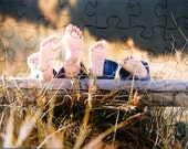 Last Minute Gift Idea Personalized Custom Photo Jigsaw Puzzle made from Your Cherished Picture Memories