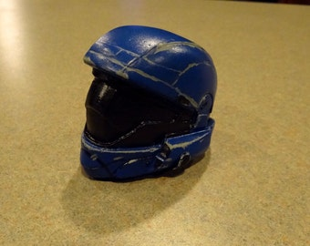 Miniature Halo ODST Helmet (raw cast)