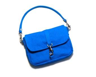 Mini Belt Bag - Crossbody or Short Strap - You Pick Color