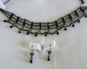 Fifth Avenue Necklace and Earrings