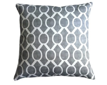 Pillow, Decorative Pillow, Throw Pillow, Pillows, Toss Pillow, Accent Pillow, Gray Sydney l, Various Sizes