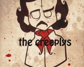 8x10 NEVERMORE art print by the creeplys