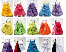 Crochet Headbands Tutu Waistbands 1.5 Inch 3 Piece Lots You Choose Color