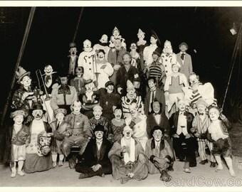 Circus Clowns 1927