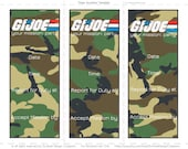 GI Joe Invitation {INSTANT DOWNLOAD}