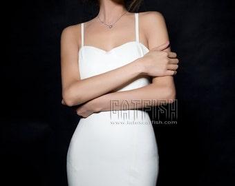 Bridemaid Dress / Woman Latex Dress ,Rubber Dress