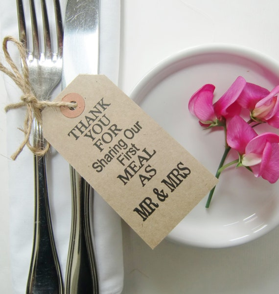 Shabby Chic Wedding Table Decorations: Rustic Wedding Table Decor-Wedding Napkin Ties-THANKYOU FOR