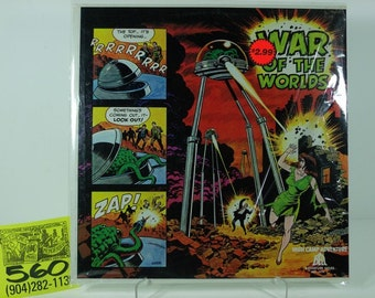 1960's Bell / High Camp Adventures Series #5 The War of the Worlds Album