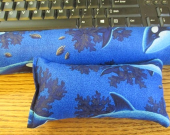 Under the Sea Wrist Rest, Mouse and Keyboard Wrist Rest, Whale and Dolphin Wrist Rest